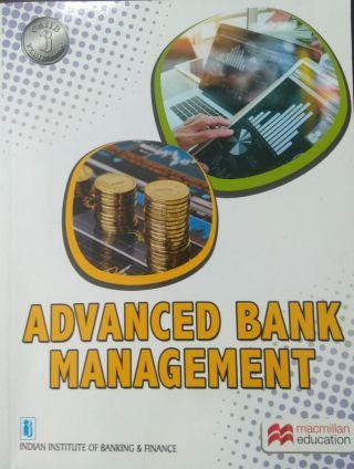 Advanced Bank Management By Macmillan Education