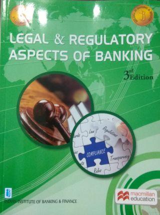 Legal & Regulatory Aspects Of Banking By Macmillan Education