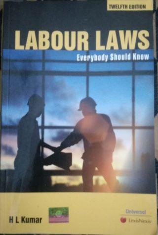 Labour Laws  BY H. L. Kumar   Universal Lexis nexis