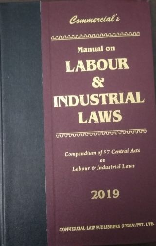 Manual Labour & Industrial Laws 2019(PKT) By Commercial Law Publishers (India) Pvt.Ltd.