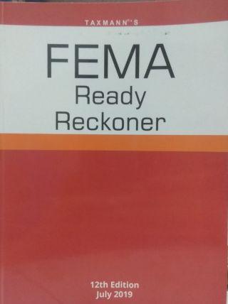 Taxmann's FEMA Ready Reckoner 12th Edi. July 2019