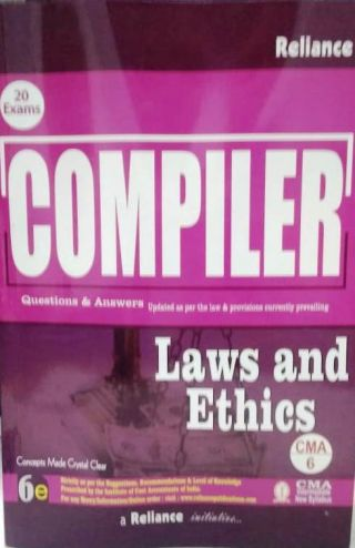 COMPILER Laws and Ethics (Intermediate New Syllabus) Reliance (CAM 6)