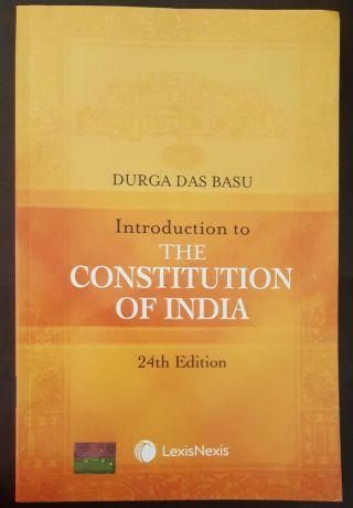 DURGA DAS  BASU INTRODUCTION TO THE CONSTITUTION OF INDIA