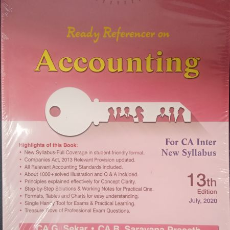 READY REFRENCE ACCOUNTING 13th edition