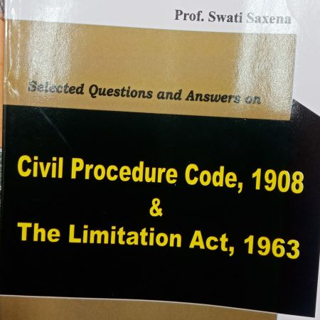 "ALP""s Series Selected Questions And Answers On Civil Procedure Code ,1908 & The Limitation Act , 1963 Amar Law Publications Indore"