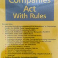 TAXMANN'S Companies Act With Rules